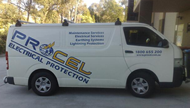 Procel electrical protection van